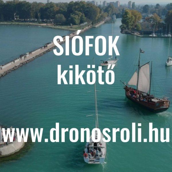 Videó – Siófok kikötő kalózhajóval