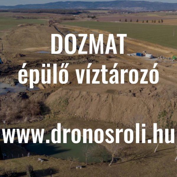 Videó – Dozmat víztározó 201902
